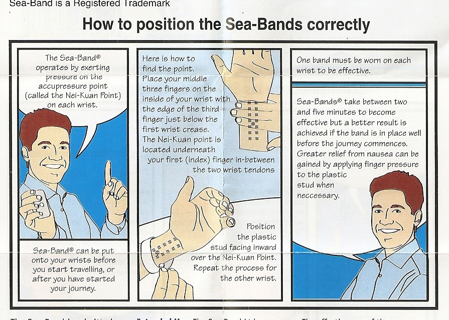 Sea bands how do they work